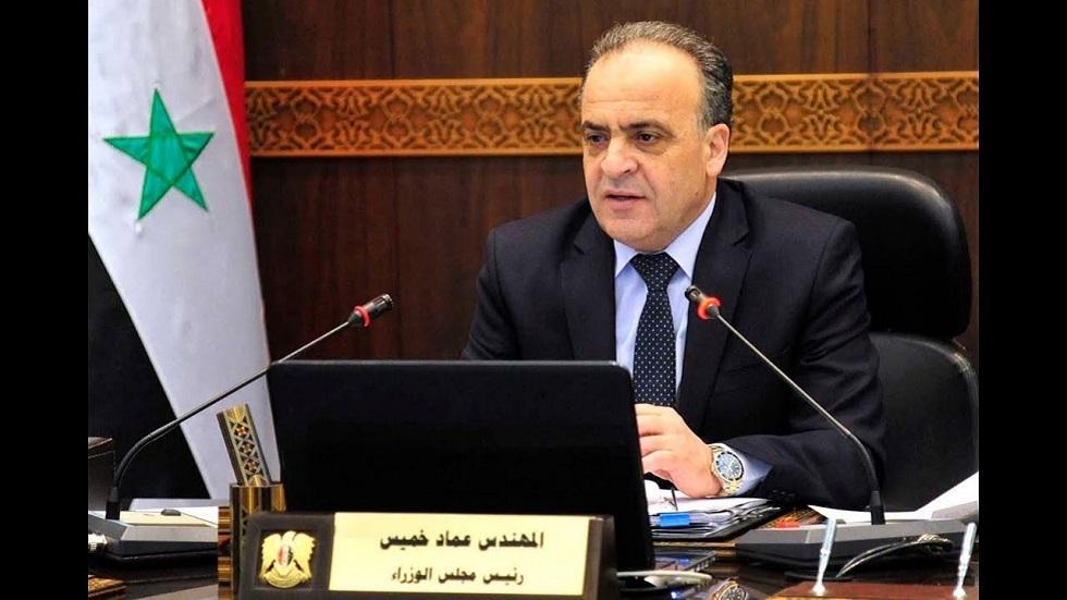 رئيس الوزراء السوري يصل إلى طهران على رأس وفد رفيع المستوى