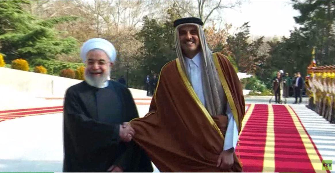 إيران وقطر: حل أزمات المنطقة بتخفيف التصعيد