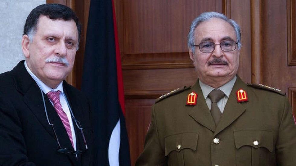 مسؤول روسي: حفتر والسراج قد يزوران موسكو قريبا لمناقشة تسوية الأزمة الليبية مع القيادة الروسية