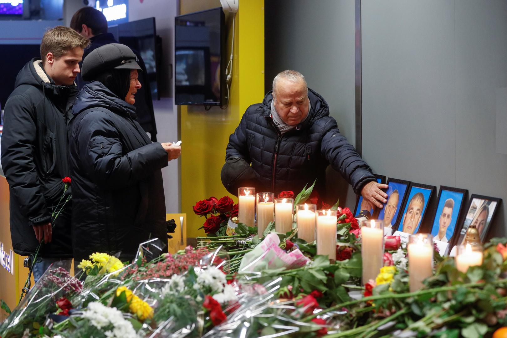 أوكرانيا ترسل طائرة عسكرية لاستعادة جثث ضحايا الطائرة المنكوبة من إيران