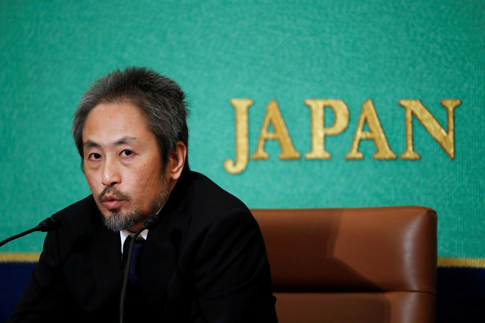 صحفي ياباني أُسر في سوريا يرفع قضية ضد حكومة بلاده