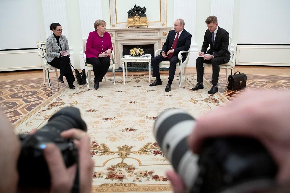 الشرق الأوسط يزيح أوكرانيا في الحوار الروسي الألماني
