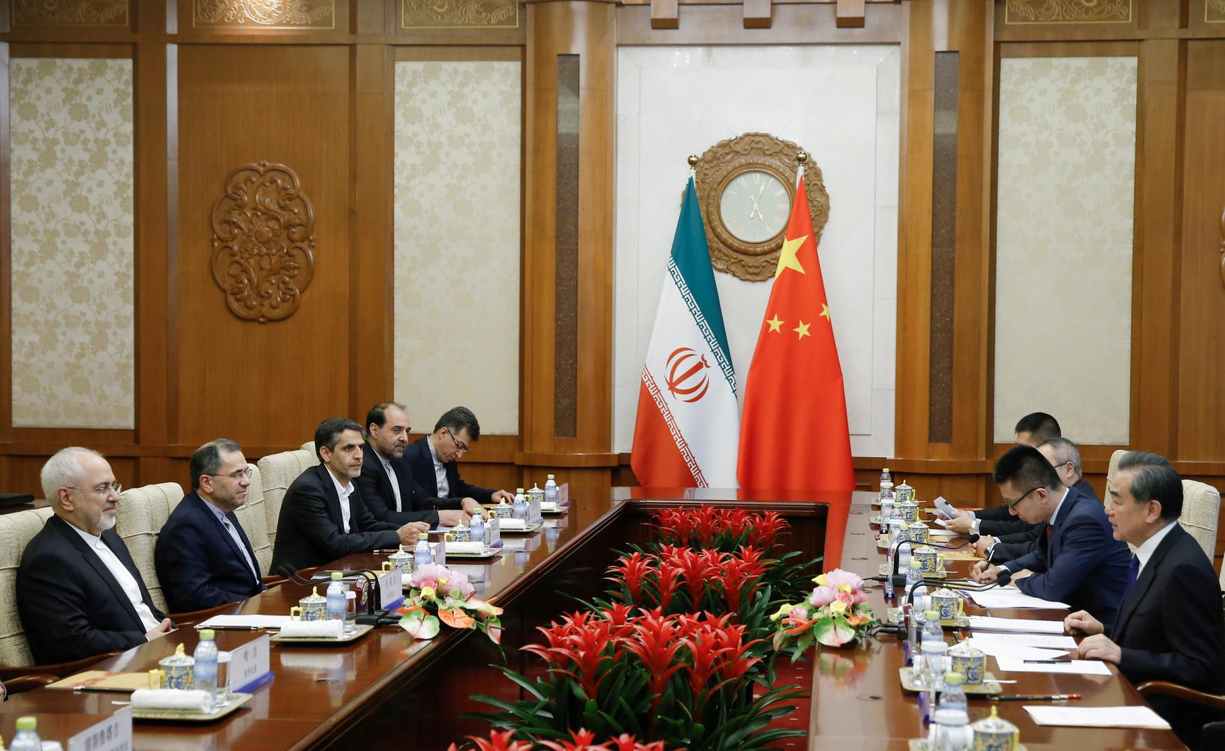 بكين: تعاوننا الاقتصادي مع إيران يحترم القانون الدولي ولا ينتهك مصالح الآخرين