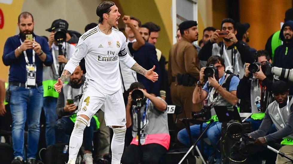 ريال مدريد يخسر جهود نجمه راموس
