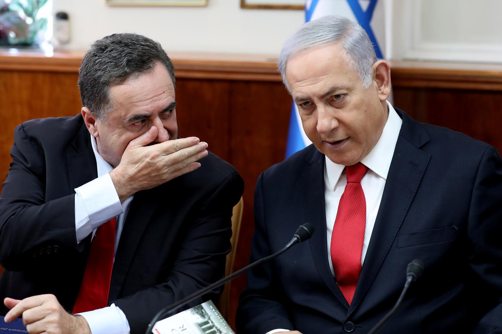 وزير الخارجية والاستخبارات الإسرائيلي يهدد نصر الله بالتصفية