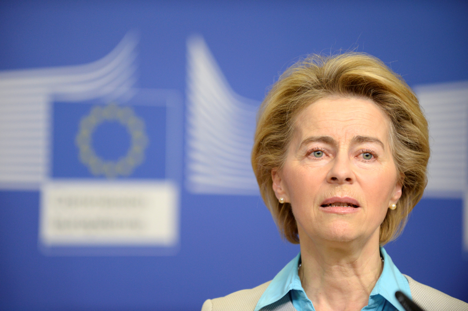 رئيسة المفوضية الأوروبية، أورسولا فون دير لاين