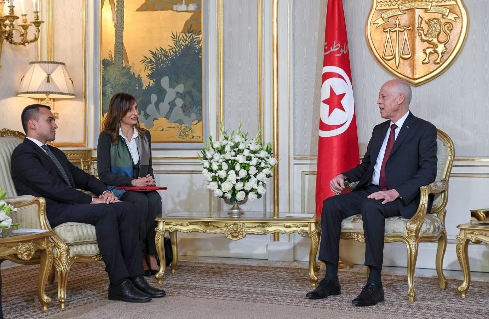 بعد زيارته للجزائر.. وزير خارجية إيطاليا يلتقي الرئيس التونسي لمناقشة الملف الليبي