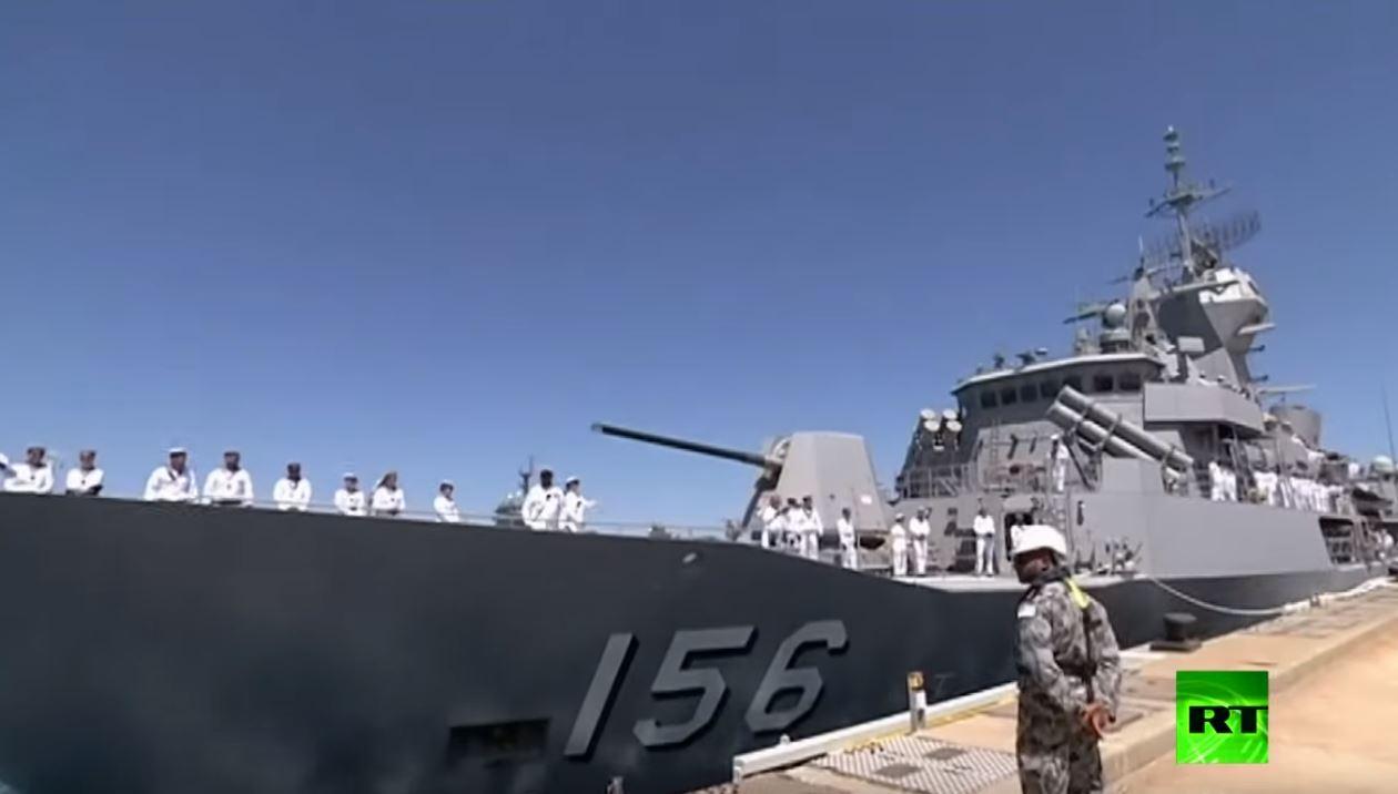 أستراليا ترسل سفينة حربية إلى مضيق هرمز