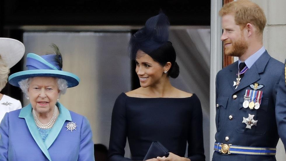 الملكة إليزابيث الثانية تبارك رحيل الأمير هاري ودوقة ساسيكس ميغان