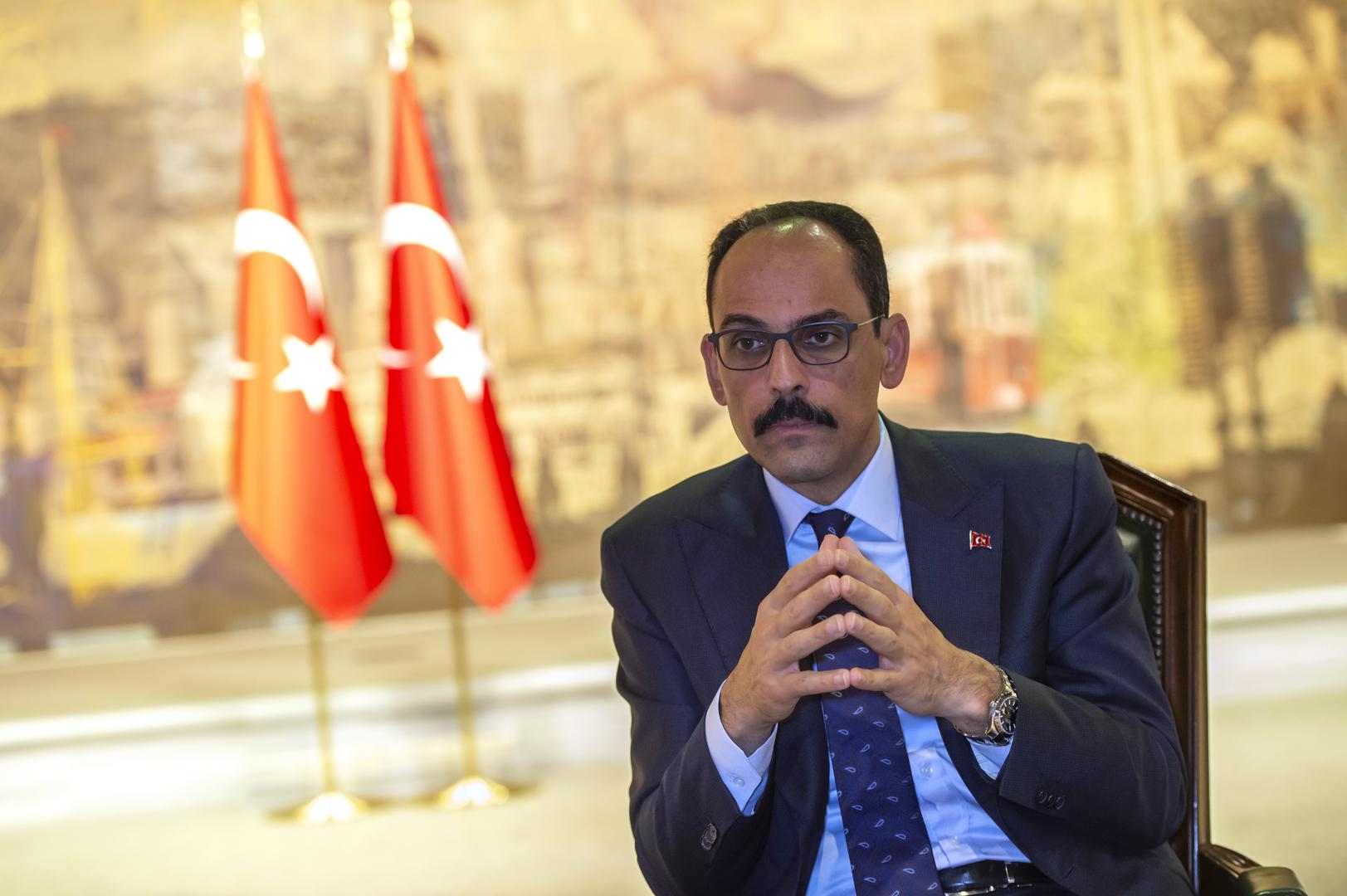 المتحدث الرئاسي التركي: قتل سليماني تصرف استفزازي