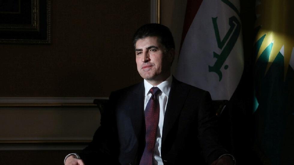 رئيس إقليم كردستان العراق نيجيرفان بارزاني