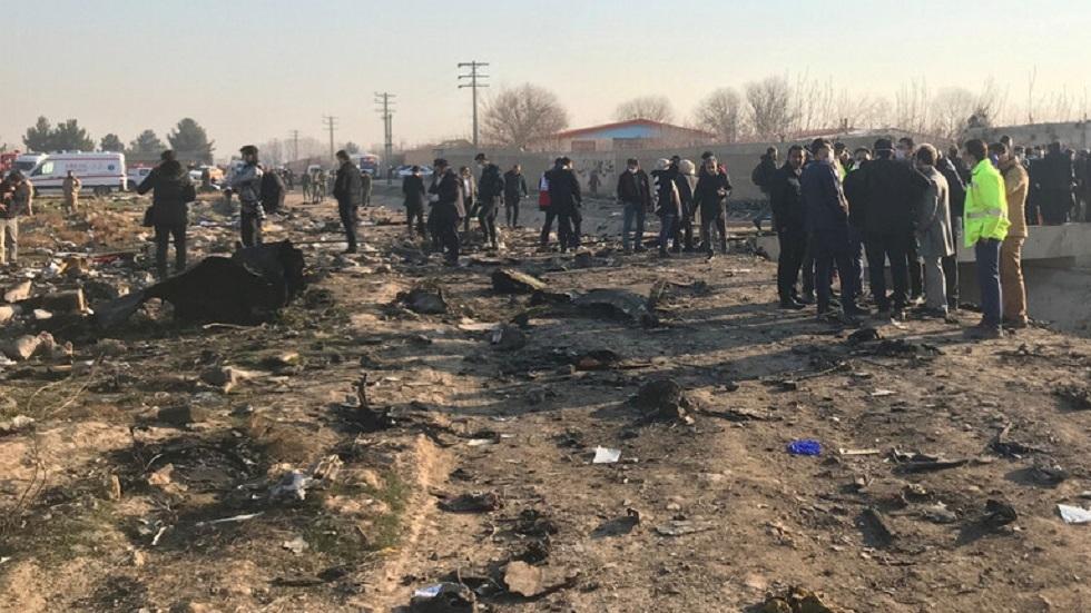 السلطات القضائية في إيران تعتقل أفرادا لهم علاقة بإسقاط الطائرة الأوكرانية