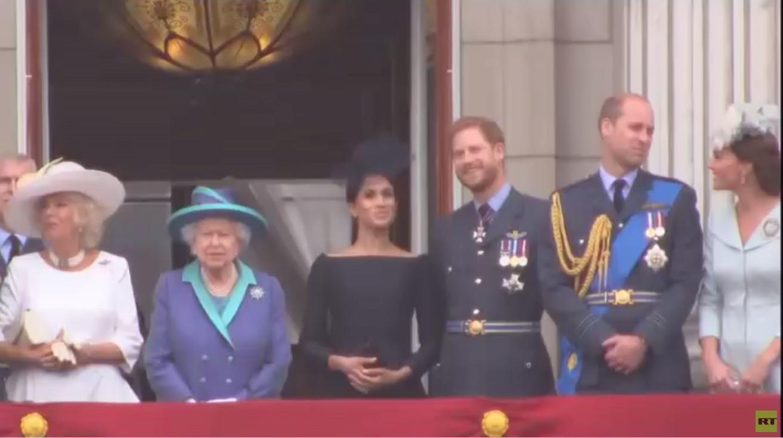 اجتماع للعائلة البريطانية المالكة