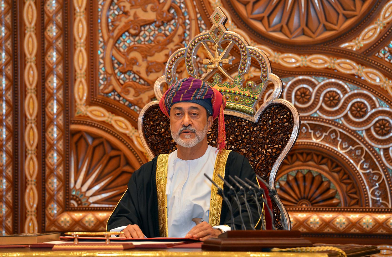 سلطان عمان هيثم بن طارق بن تيمور