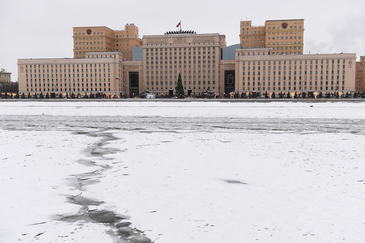 مبنى لوزارة الدفاع الروسية في موسكو