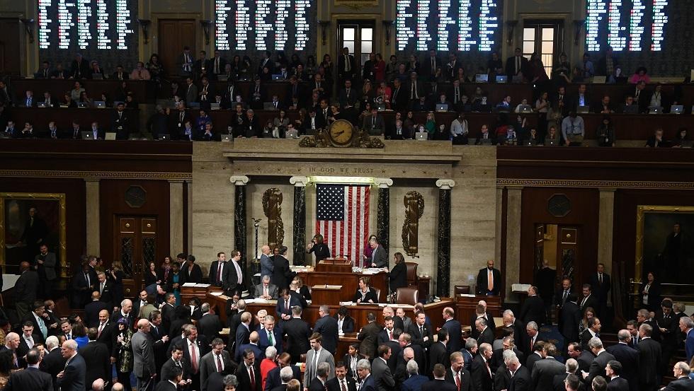 مجلس النواب الأمريكي يصوت الأربعاء على إحالة ملف عزل ترامب إلى مجلس الشيوخ