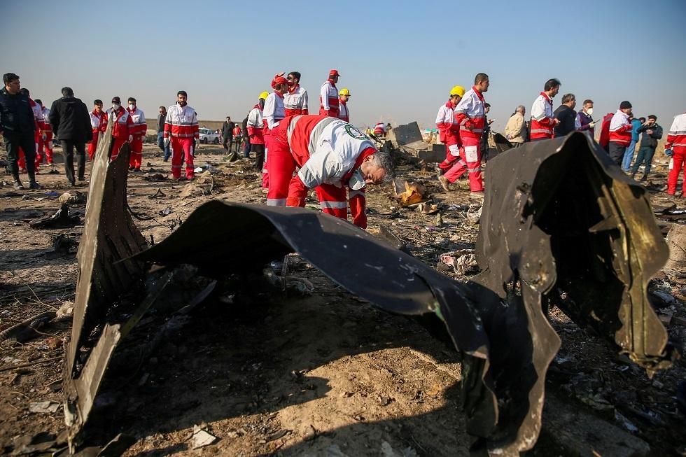 السلطات الإيرانية تحتجز شخصا صور لحظة استهداف الطائرة الأوكرانية (فيديو)