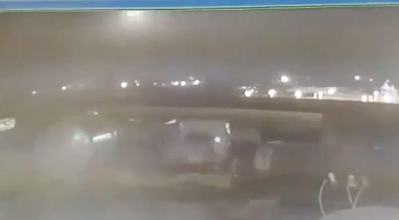 مقطع فيديو جديد يظهر إصابة الطائرة الأوكرانية بصاروخ إيراني