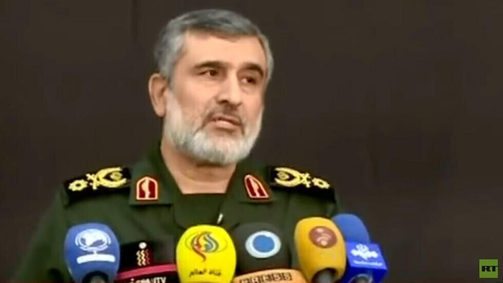 قائد القوات الجوية بالحرس الثوري: إيران قوة عظمى والولايات المتحدة عدو أجوف