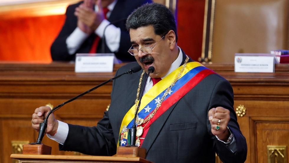 مادورو: سنحطم أسنان الإمبرياليين إذا هددوا أمن فنزويلا
