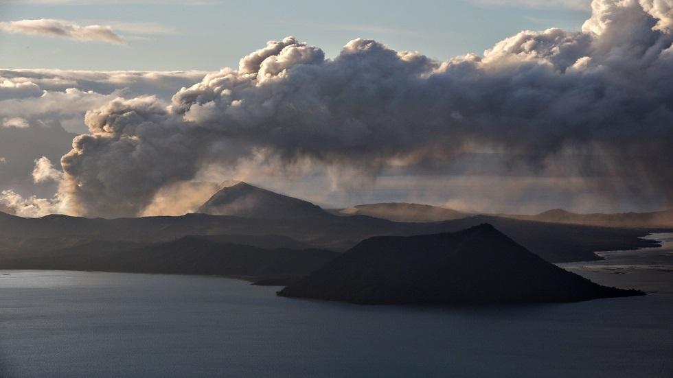 كيف بدا الثوران الهائل لبركان الفلبين من الفضاء؟