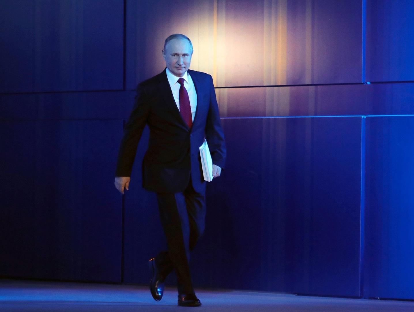 بوتين يعلن عن هدف يتمثل في جعل الاقتصاد الروسي بصدارة اقتصادات العالم