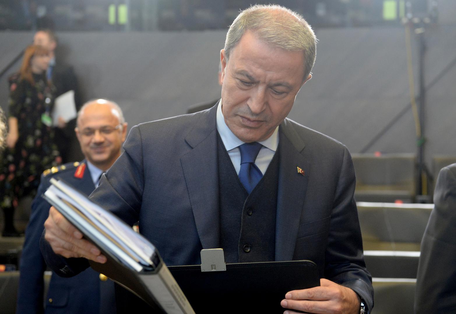 وزير الدفاع التركي خلوصي أكار، أرشيف
