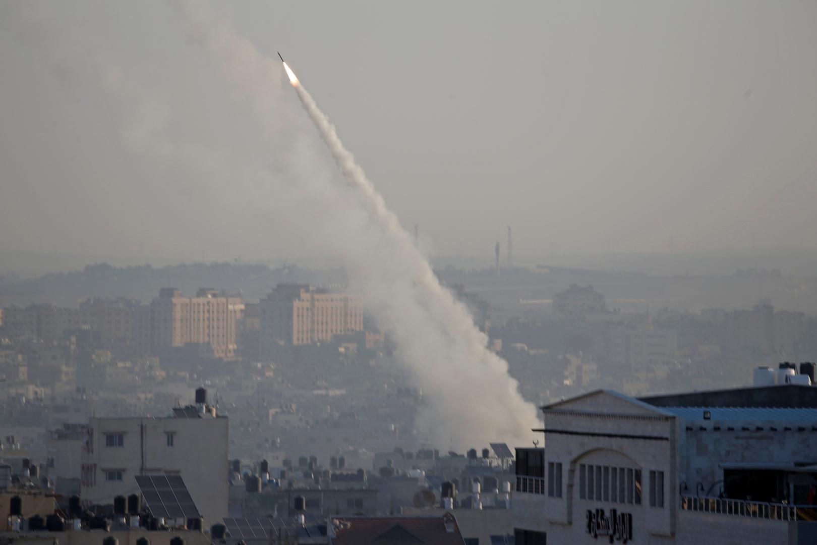 إطلاق صواريخ من غزة- أرشيف