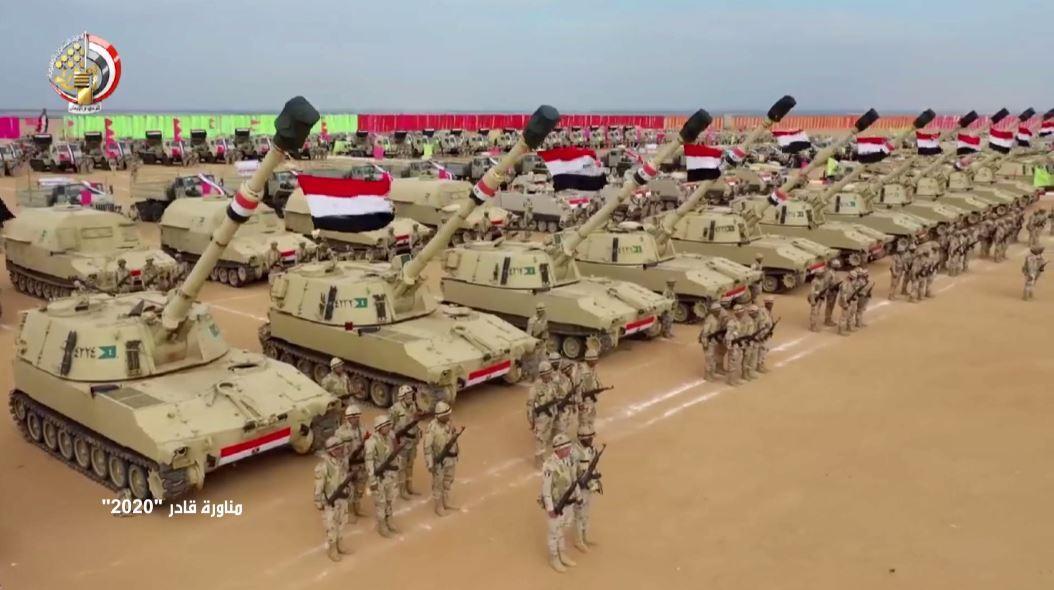 افتتاح أكبر قاعدة عسكرية مصرية في البحر الأحمر