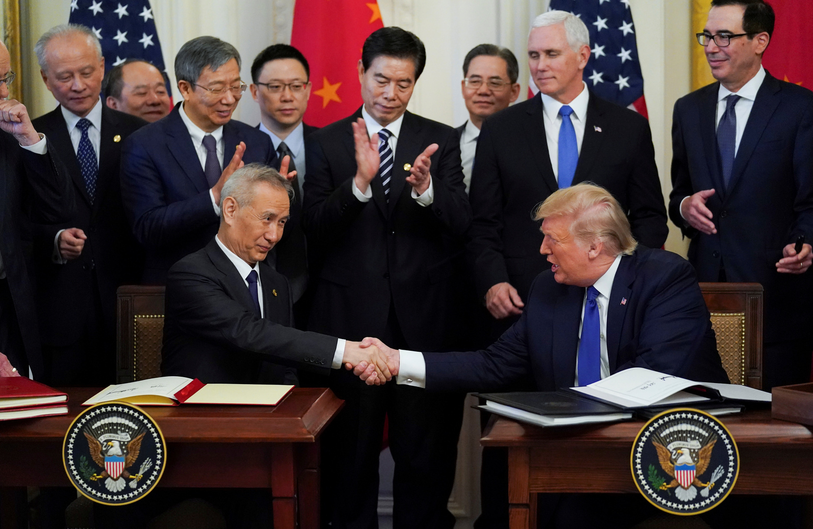 الولايات المتحدة والصين توقعان
