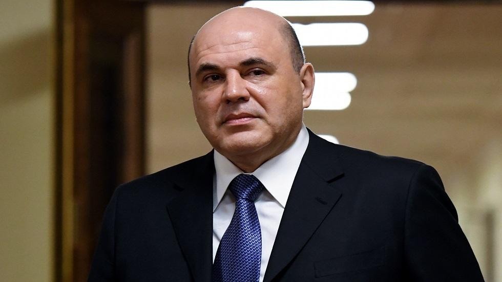 المرشح لرئاسة الحكومة الروسية ميخائيل ميشوستين