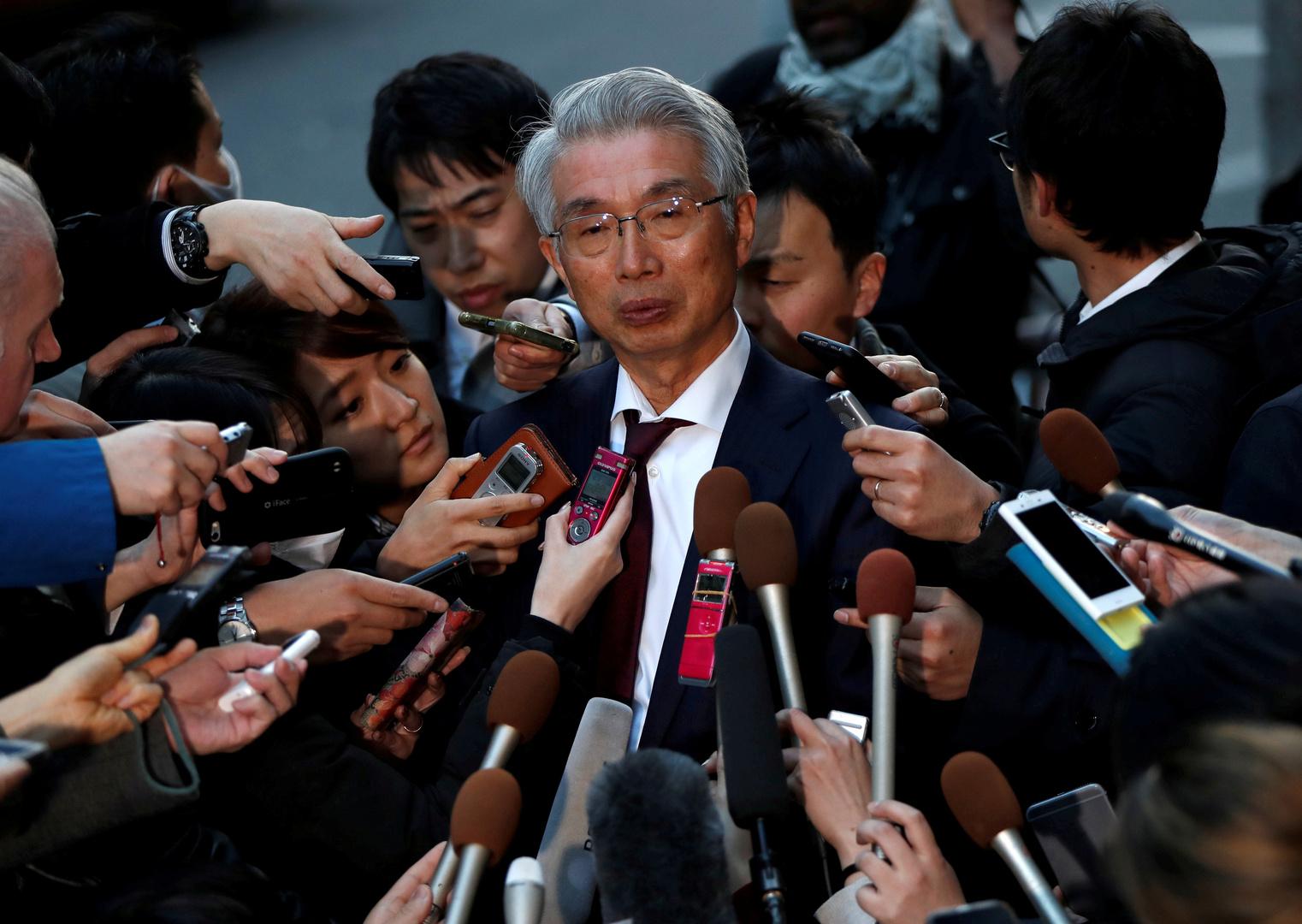 محامي كارلوس غصن الياباني يتنحى