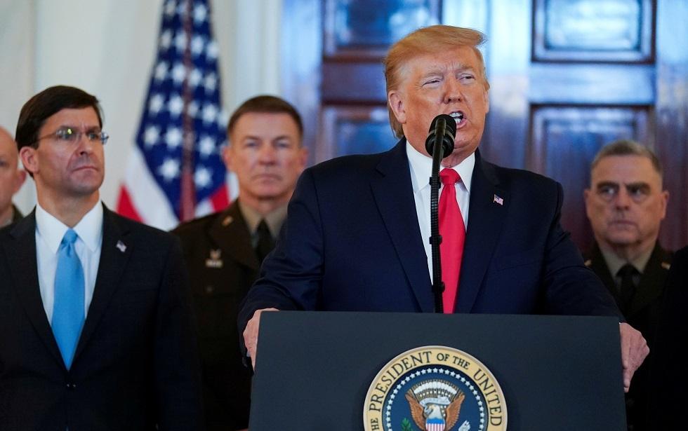ترامب يجهز الولايات المتحدة لمغادرة الشرق الأوسط