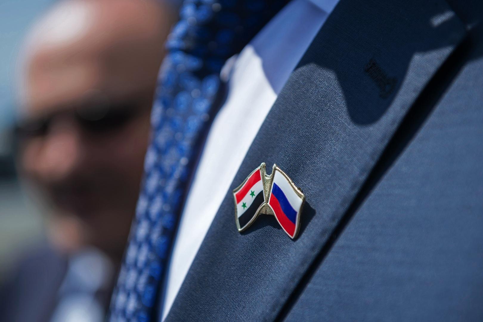شحن أطنان من منتجات زراعية من سوريا إلى روسيا