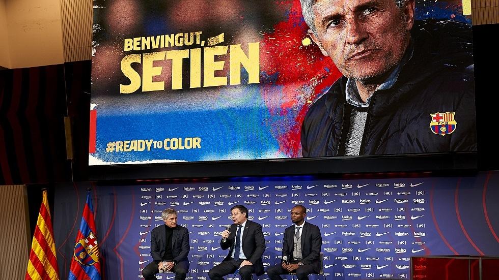 مدرب برشلونة الجديد يجري تغييرات جذرية في الفريق