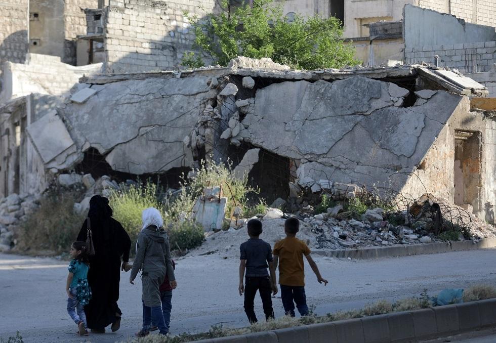 أرشيف -  مدينة إدلب، سوريا