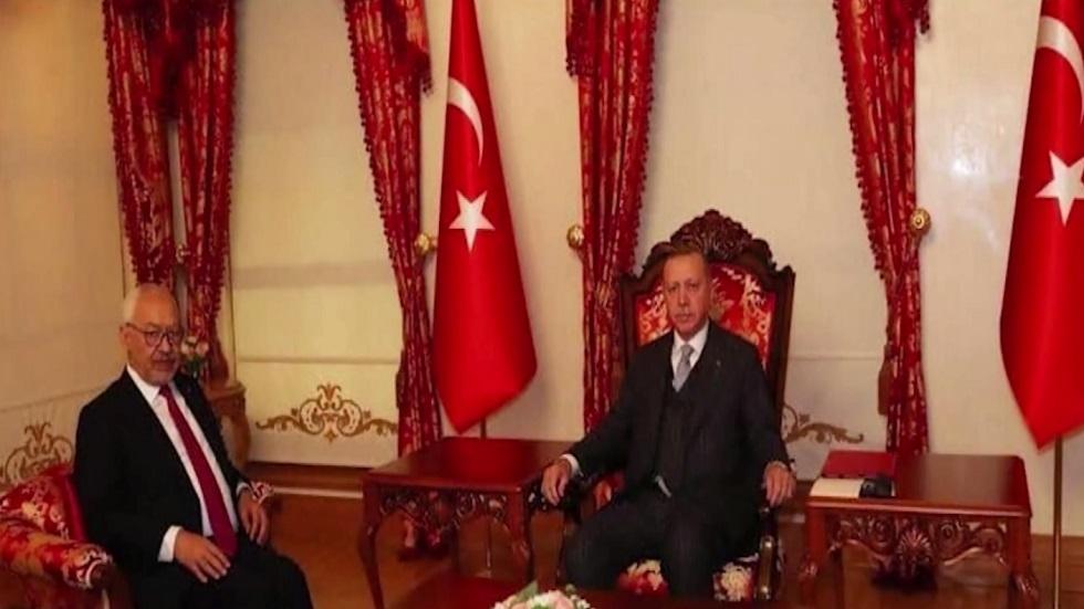 تبعات لقاء غنوشي بأردوغان
