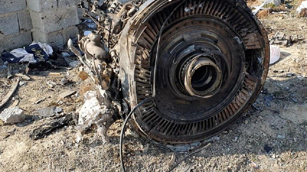 كييف تؤكد أن إيران أزالت آثار تحطم طائرة الركاب الأوكرانية بالجرافات