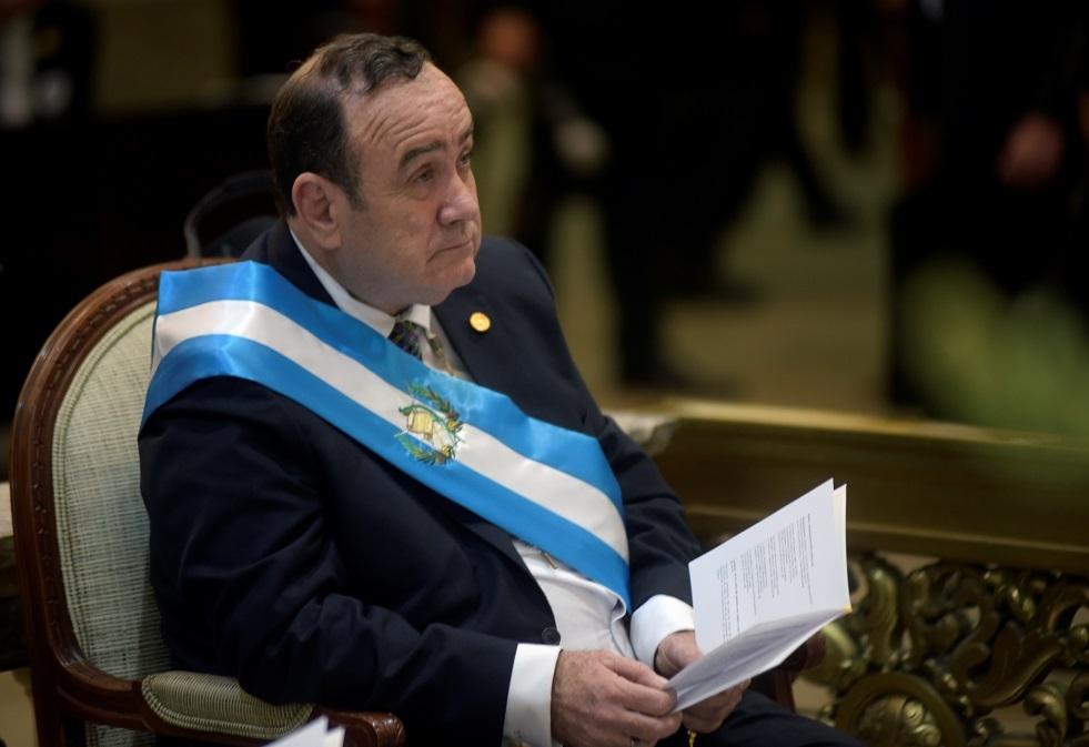 رئيس جواتيمالا المنتخب أليخاندرو جيامّاتي