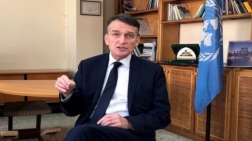 المدير المؤقت لوكالة الأمم المتحدة لإغاثة وتشغيل اللاجئين الفلسطينيين