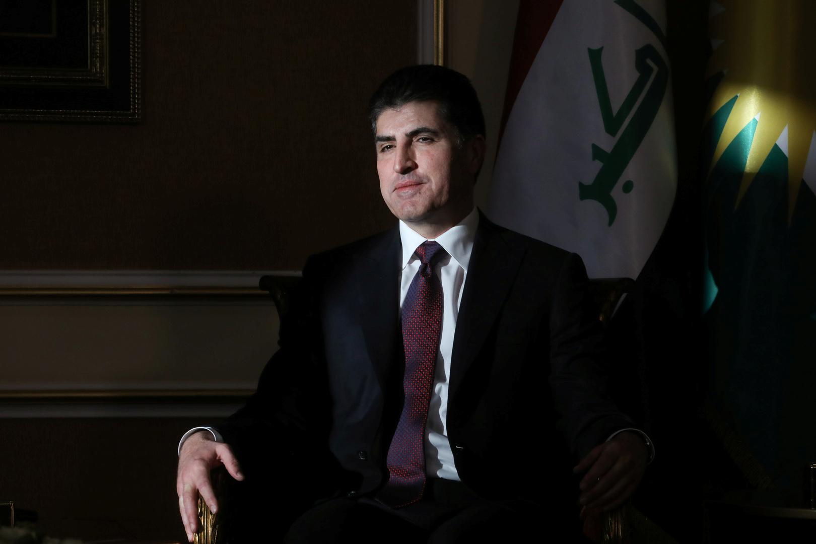 نيجيرفان بارزاني، رئيس إقليم كردستان العراق