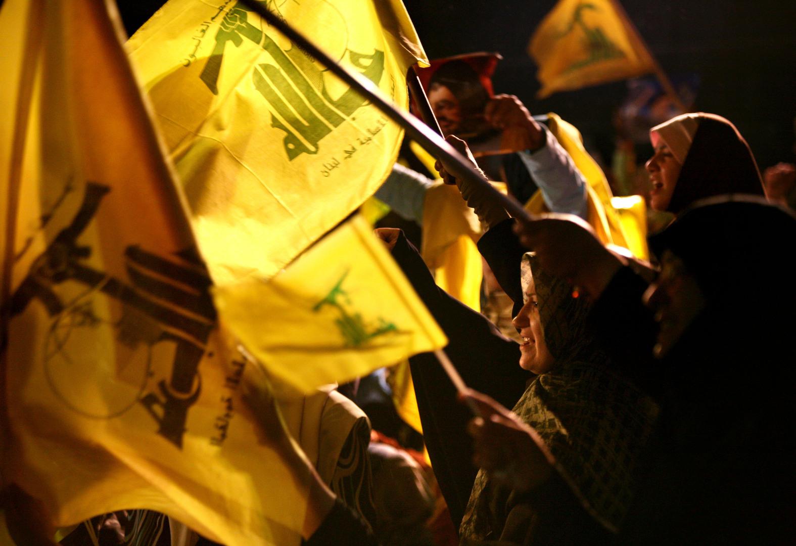 مناصرون لحزب الله اللبناني، بيروت، أرشيف