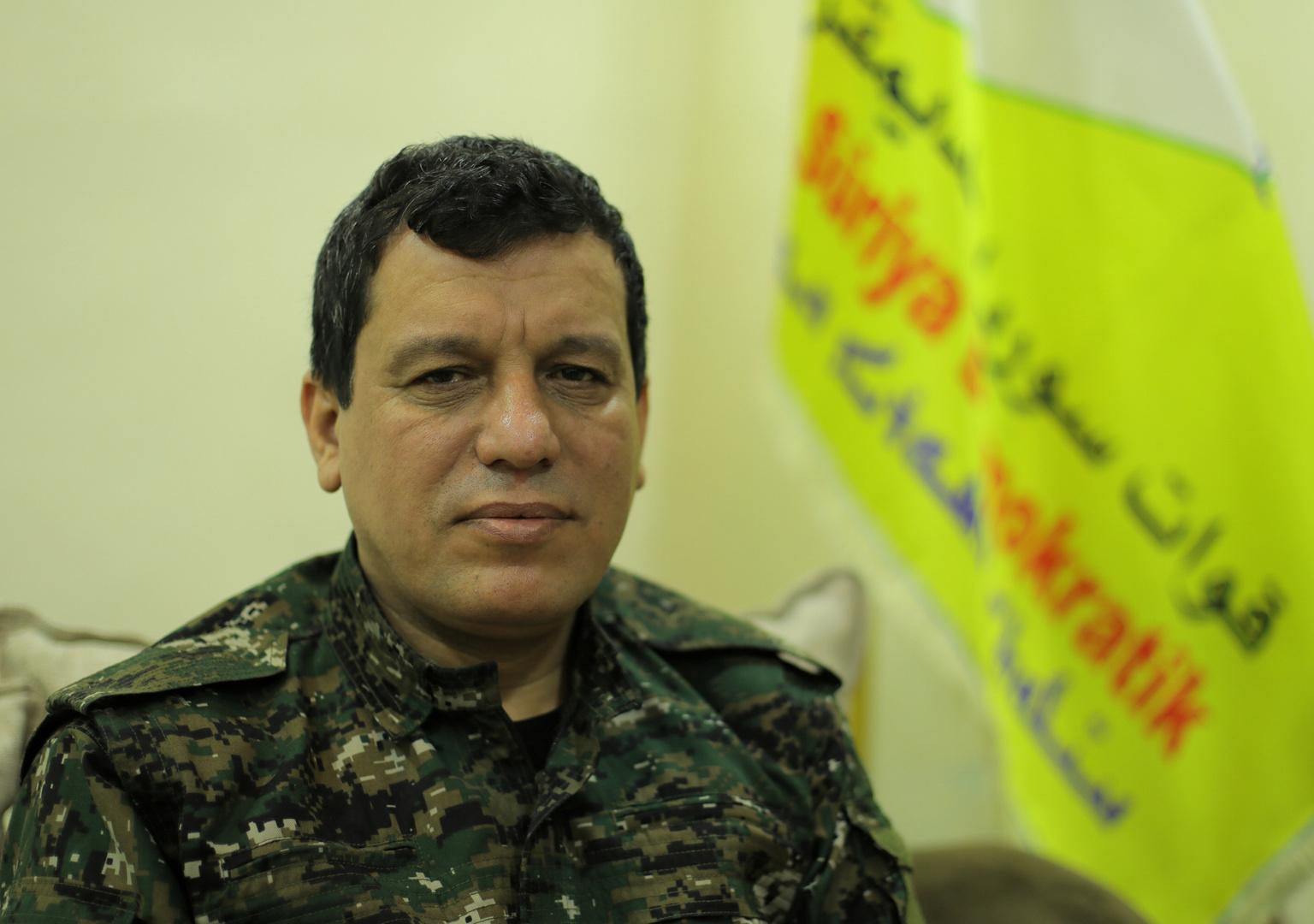 مظلوم عبدي، قائد قوات سوريا الديموقراطية