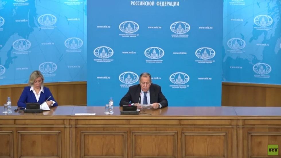 لافروف: توافق كبير حول وثائق مؤتمر برلين
