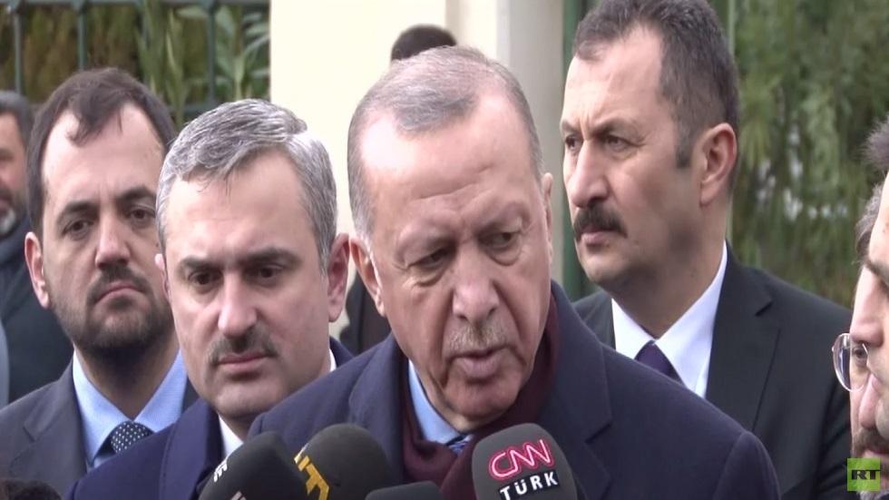 أردوغان: لا نثق بحفتر وقصف طرابلس متواصل