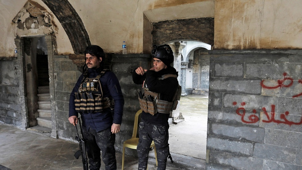 قوات الأمن العراقي في الموصل - أرشيف