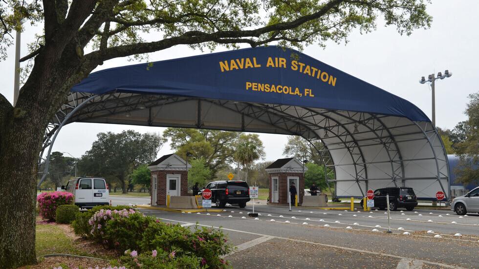قاعدة بينساكولا الجوية للبحرية الأمريكية، التي وقع فيه هجوم مسلح أسفر عن مقتل 4 أشخاص بينهم المهاجم السعودي محمد الشمراني