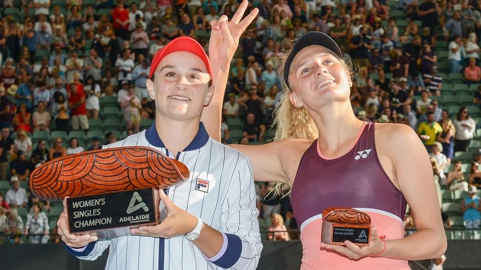 بالفيديو.. بارتي تحرز لقب بطولة أديليد وترفع معنوياتها قبل أستراليا المفتوحة