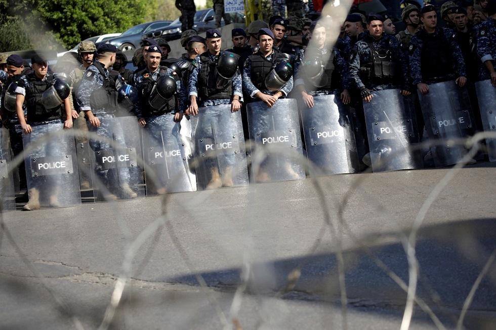 رجال الأمن في لبنان - أرشيف -