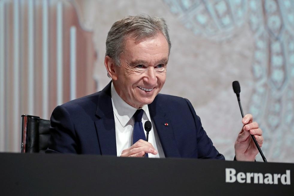رئيس شركة LVMH الفرنسية برنارد أرنو